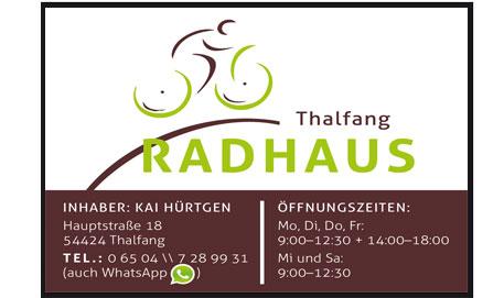 Logo Radhaus Thalfang