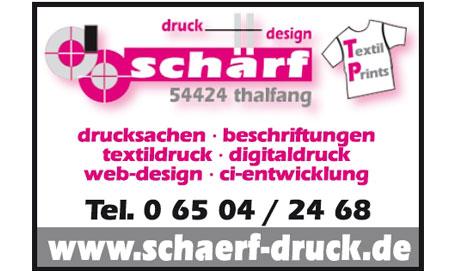 Logo Druck & Design Schärf