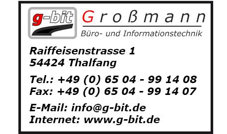 Logo Großmann - Büro und Informationstechnik