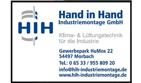 Logo Hand in Hand Industriemontage GmbH