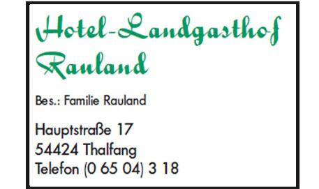 Logo Landgasthof Rauland