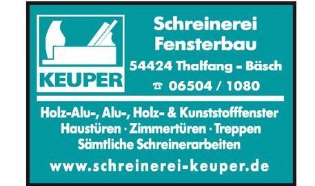 Logo Schreinerei Keuper
