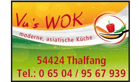 Logo Vu's Wok