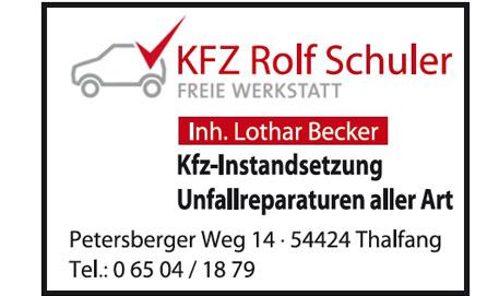 Logo KFz Rolf Schuler